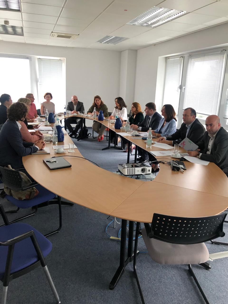 სახელმწიფო ქონების ეროვნულ სააგენტოსა და გერმანიის ფედერალური რესპუბლიკის ფინანსთა სამინისტროს შორის თანამშრომლობის ფარგლებში მორიგი სამუშაო შეხვედრა შედგა
