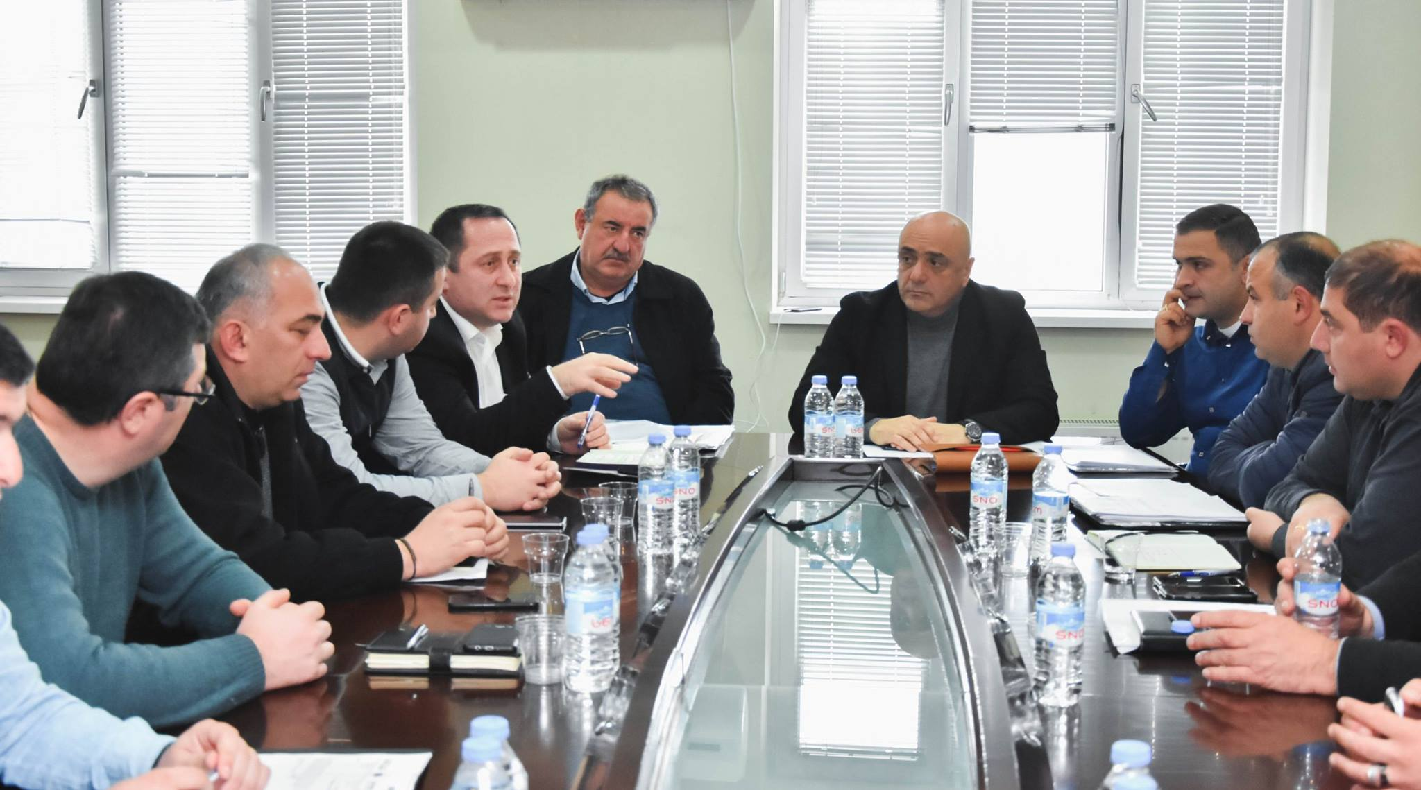შეხვედრა სახელმწიფო ქონების ეროვნული სააგენტოს   სამეგრელო, გურია ზემო-სვანეთის მომსახურეობის ცენტრის უფროსთან