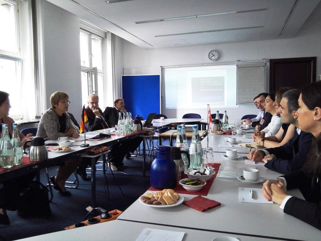 სახელმწიფო ქონების ეროვნულ სააგენტოსა და გერმანიის ფედერალური რესპუბლიკის ფინანსთა სამინისტროს შორის თანამშრომლობა გრძელდება